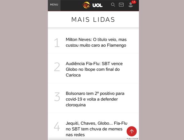 """Texto do Miltão """"bombou"""" nas redes sociais"""
