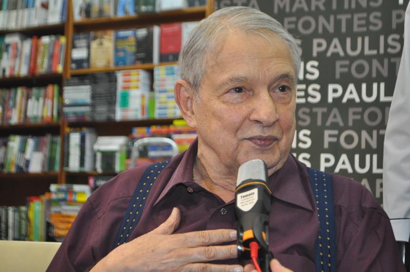 """José Paulo de Andrade, o """"Canhão do Rádio"""". Foto: Marcos Júnior Micheletti"""