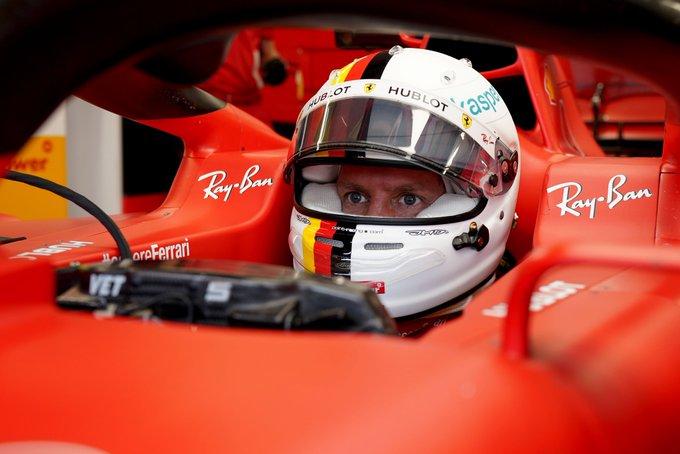 Alemão colocou a Ferrari na ponta em Hungaroring. Foto: Scuderia Ferrari