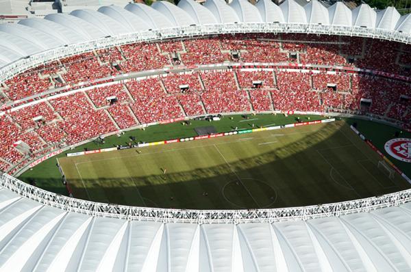Estádio passou por uma ampla reforma e foi palco de jogos da Copa de 2014. Foto: site oficial do Inter