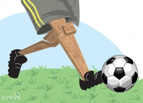 Dirigentes irresponsáveis existem desde sempre no futebol brasileiro. Imagem: Pacífico