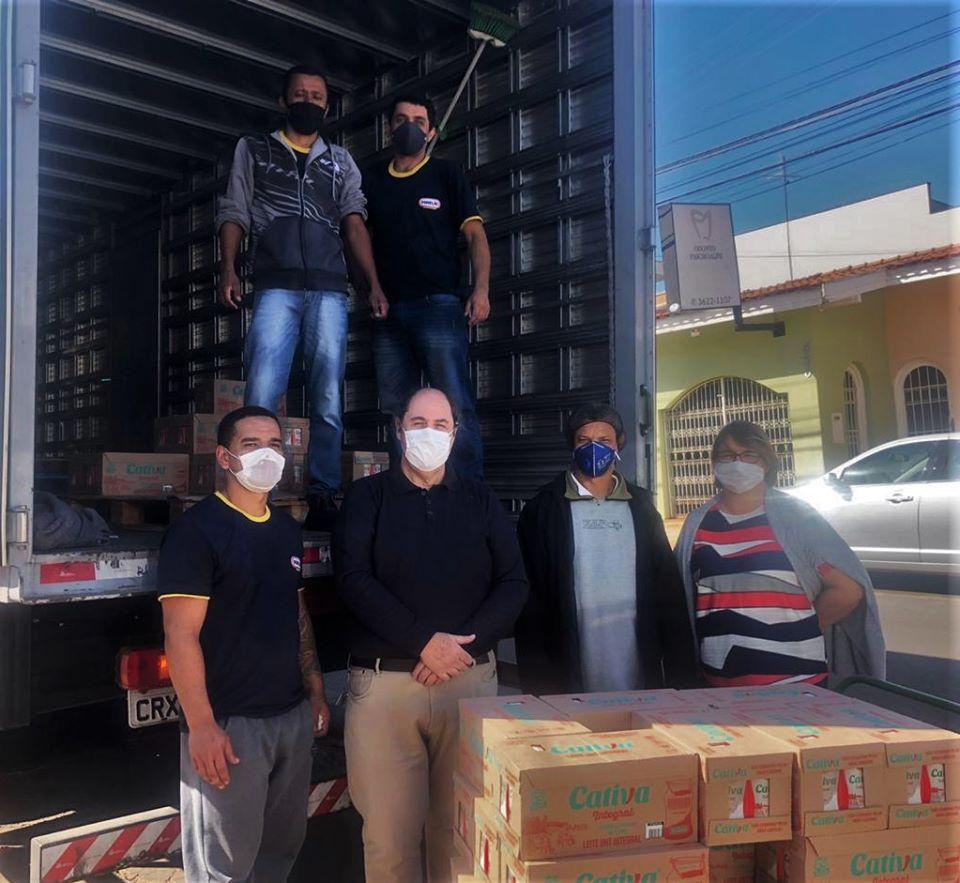 Ítens serão destinados ao hospital e Casas de Apoio. Foto: Divulgação