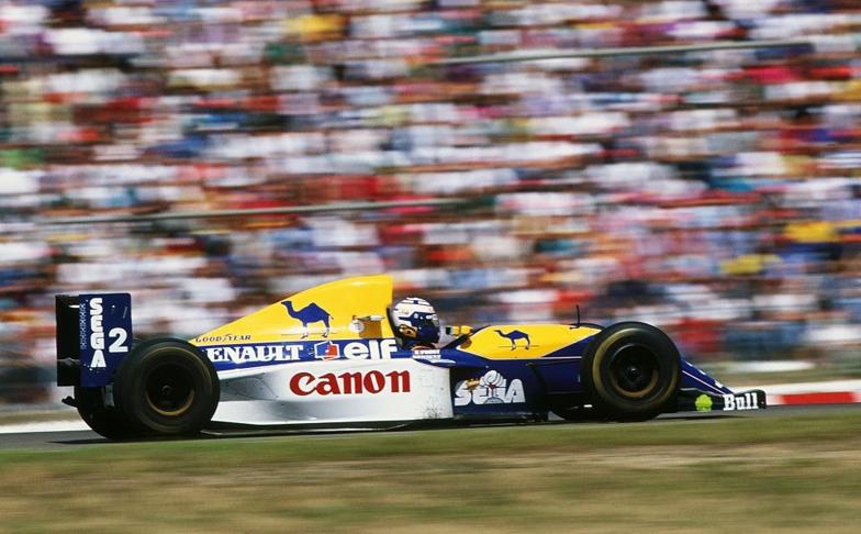 Francês triunfou com a Williams em Hockenhem há 27 anos.  Foto: Reprodução