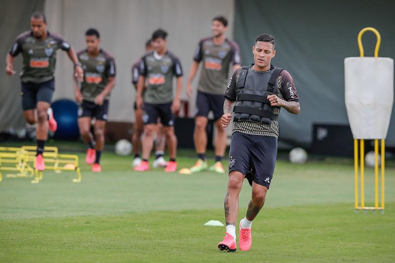 Equipe mineira precisa de vitória para avançar no Mineiro. Foto: Bruno Cantini / Agência Galo / Clube Atlético Mineiro