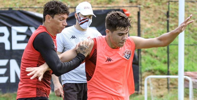 Equipe baiana terá o Ceará no jogo da volta em casa. Foto: Letícia Martins/ECV