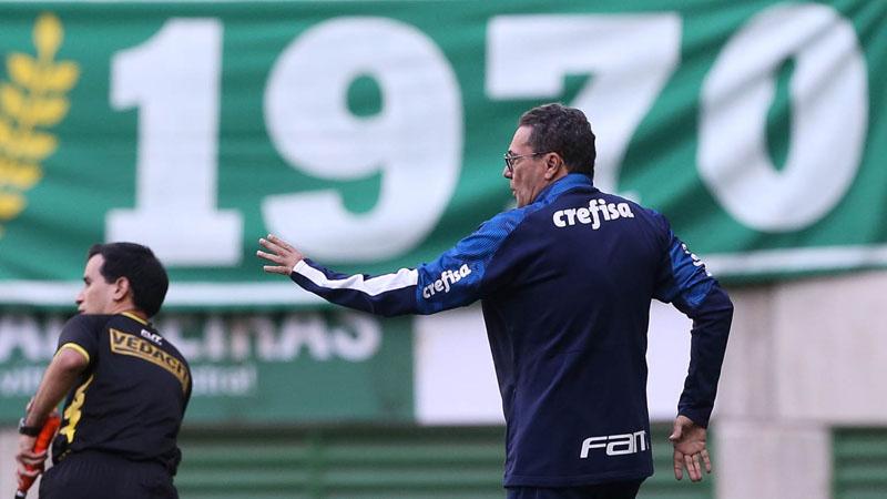 Treinador enalteceu a virada Alviverde diante do Água Santa. Foto: Divulgação / Palmeiras