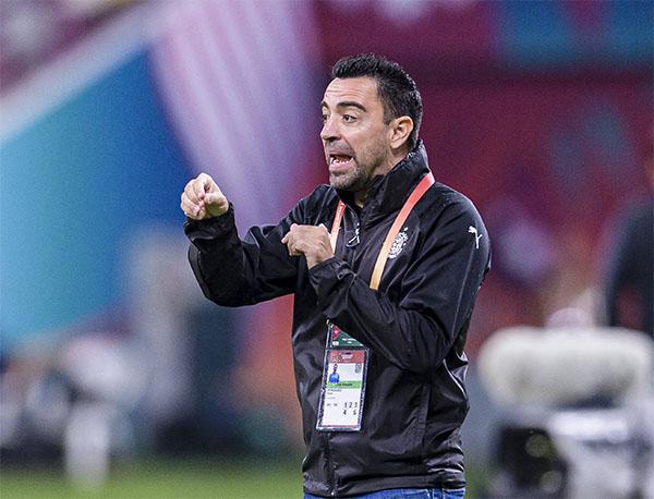 Xavi, atual técnico do Al-Sadd. Foto: Divulgação