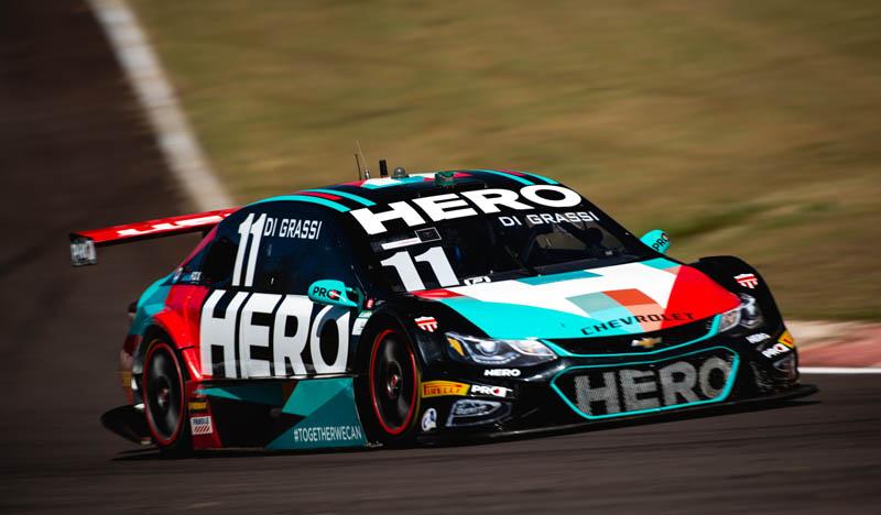 Piloto da Hero Motorsport triunfou na corrida 1 no oeste paranaense. Foto: Victor Eleutério/Divulgação
