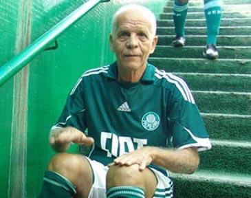 O Divino é o recordista de jogos com a camisa do Palmeiras. Foto: Marcos Júnior Micheletti/Portal TT