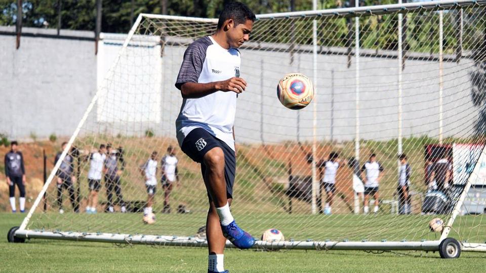Dahwan está confiante para o jogo na Vila Belmiro. Foto: PontePress / LuizGuilhermeMartins