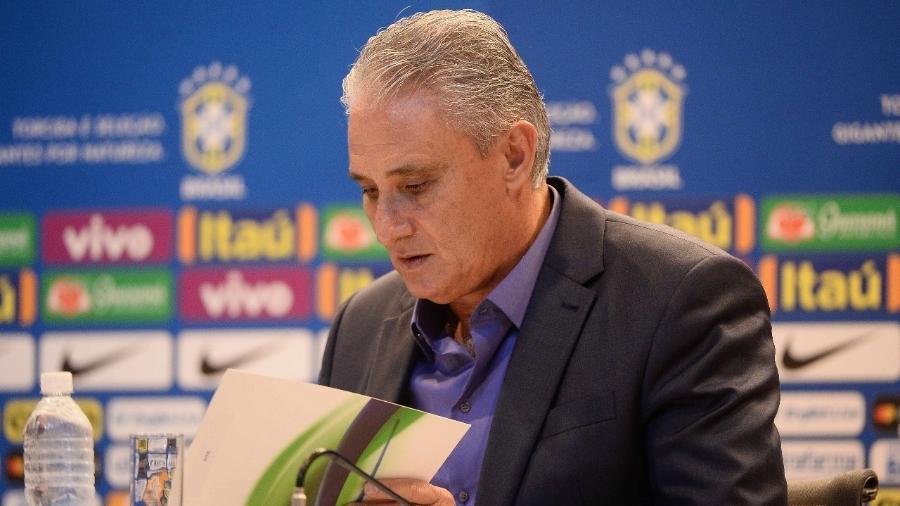 Treinador convocou a seleção para amistosos contra a Rússia e a Alemanha. Foto: Imagem: Pedro Martins/Mowa Press/via UOL