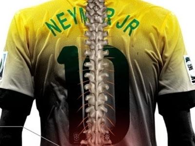 Em entrevista ao UOL Esporte, o doutor Alexandre Fogaça, especialista em coluna do Instituto de Ortopedia do Hospital das Clínicas, em São Paulo, explicou a lesão do astro brasileiro e disse que Neymar não correu maior risco em nenhum momento por se tratar de uma fratura estável.