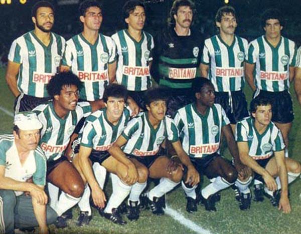 Equipe paranaense levantou o título nacional em 1985. Foto: Divulgação