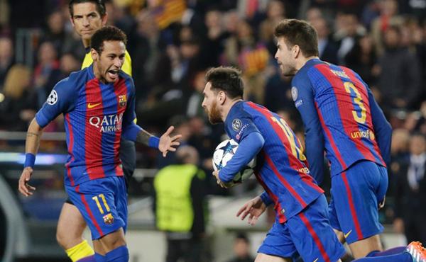 Em noite inspirada, Neymar comandou o time catalão a uma virada histórica