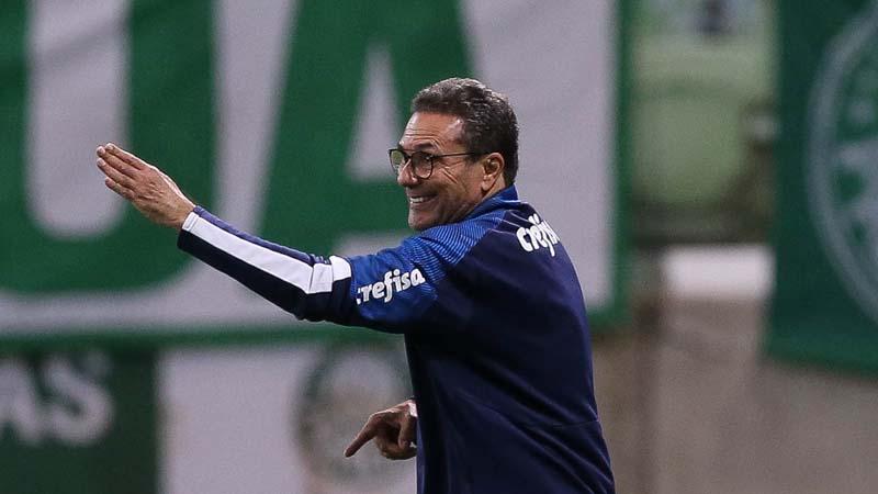 Treinador também exaltou as boas chances que o time criou. Foto: Divulgação / Palmeiras
