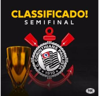 Na fase pós-quarentena, a sorte parece que está mais simpática ao Corinthians