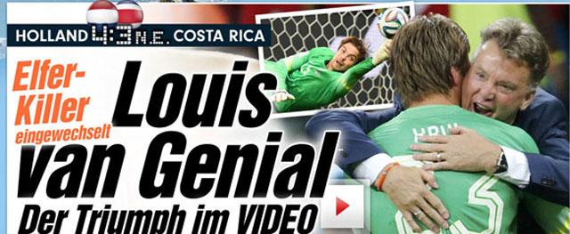Os goleiros foram fundamentais. O costarriquenho para levar a decisão por pênaltis e o arqueiro reserva holandês por defender duas penalidades.