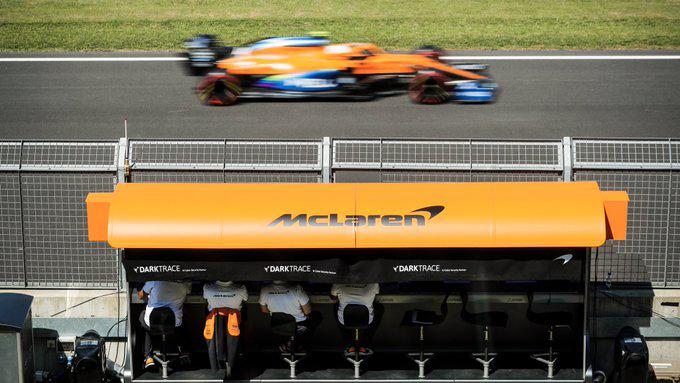 Carros estão cada vez mais rápidos. E nem parece... Foto: McLaren F1