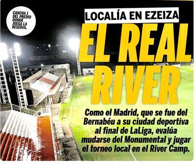 teste   Sem público, River abre mão do Monumental e mandará seus jogos no `River Camp`