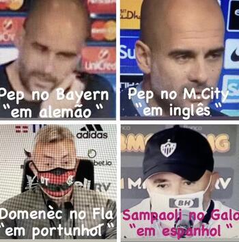 No primeiro dia de trabalho, técnico do Flamengo já tentou falar português