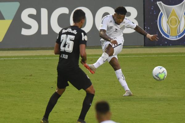 A partida, na Vila Belmiro, terminou em 1 x 1. (Foto: Santos FC)