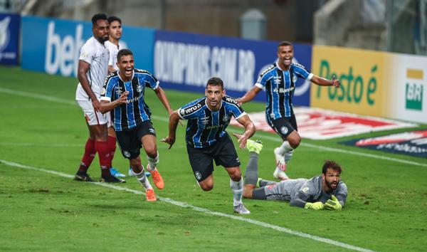 A partida terminou em 1 a 0 para o time gaúcho. (Foto: Grêmio)