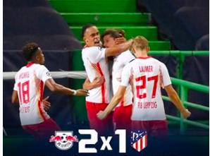 Jovem equipe alemã surpreende e elimina o poderoso Atlético de Madrid