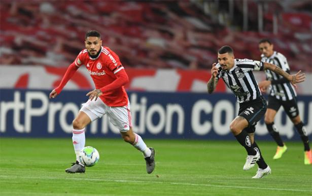 Guerrero fez um dos gols colorados no Beira-Rio. Foto: Divulgação