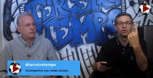 João Antonio e Frank Fortes durante a Live. Foto: Reprodução