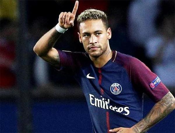 Neymar, destaque do PSG na Liga dos Campeões. Foto: Divulgação