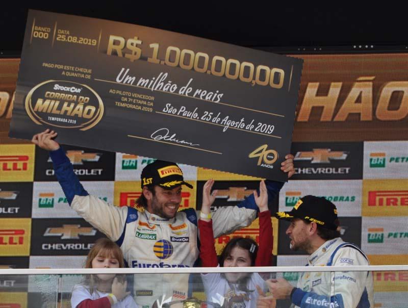 Ricardo Mauricio que já havia vencido a prova em 2010, voltou a ganhar em 2019. Foto: Marcos Júnior Micheletti/Portal TT