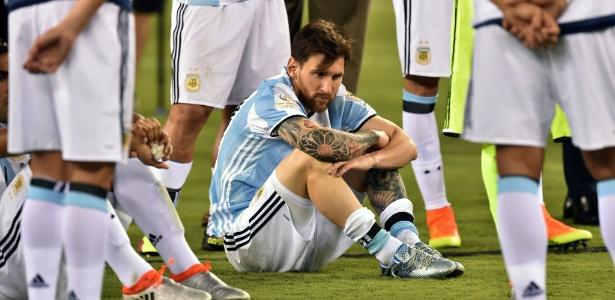 Argentina perdeu a final para o Chile, nos pênaltis. Foto: Nicholas Kamm/AFP Photo