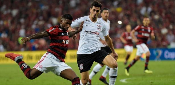 Vitória sobre o Flamengo representa premiação mínima de R$ 20 milhões. Foto: Thiago Ribeiro/AGIF