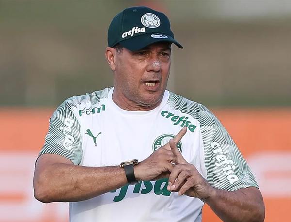 Luxemburgo, técnico do Palmeiras. Foto: Cesar Greco/Ag. Palmeiras