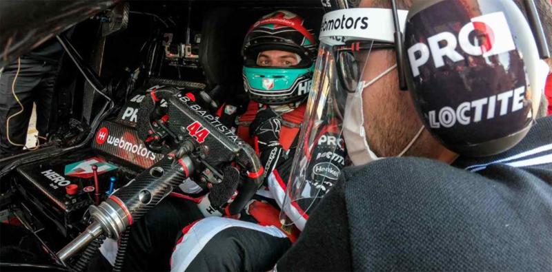 Piloto da RCM Motorsport foi bem na chuva. Foto: Duda Bairros/Vicar