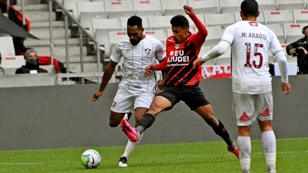 Os cariocas venceram a partida por 1 a 0, em Curitiba. (Foto: Fluminense)
