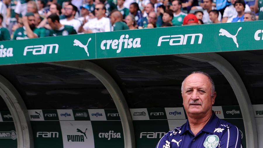 Para o jogo, Felipão pode fazer alterações na equipe