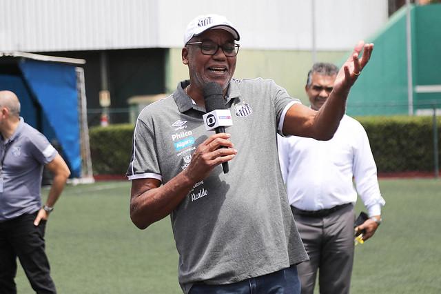 Serginho Chulapa, ídolo santista. Foto: Ivan Storti/Santos FC