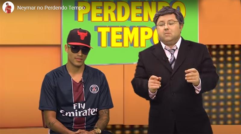 O humorista também parodiou Neto e Ronaldo Giovanelli