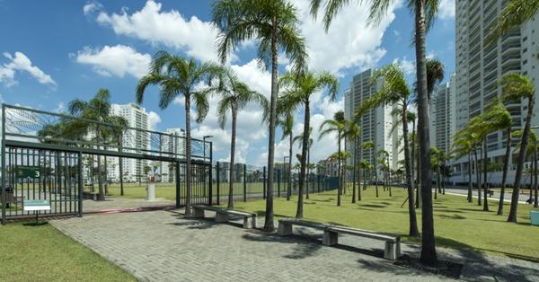 Local fica entre o Allianz Parque e a Academia de Futebol. Foto: Divulgação/Tecnisa