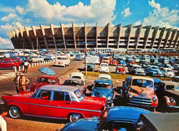 Estádio foi inaugurado em 5 de setembro de 1965, em partida amistosa. Foto: Divulgação
