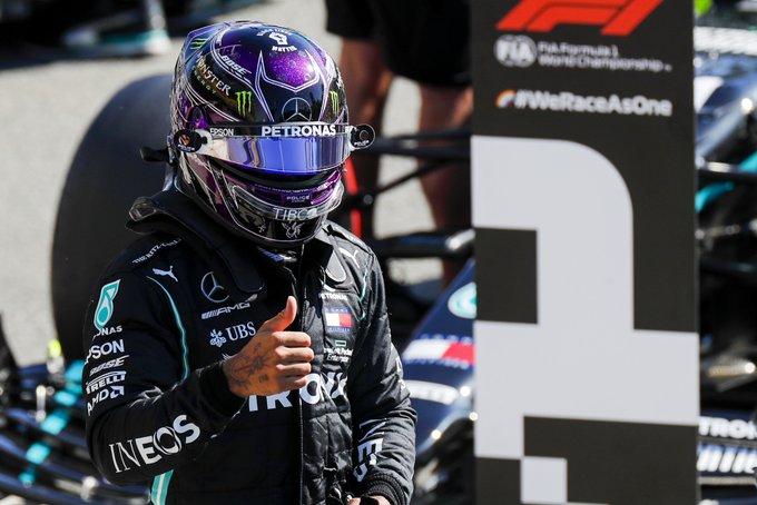 Inglês parte na frente no GP da Itália. Foto: Mercedes-AMG F1