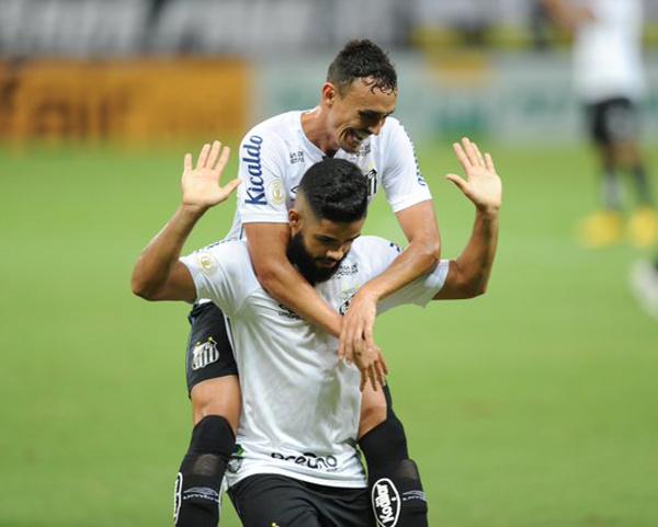 A partida terminou com a vitória do Peixe por 1 a 0. (Foto: Santos FC)