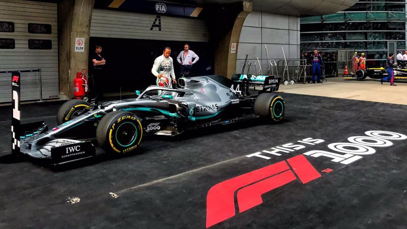 Britânico largou melhor e ganhou a prova disputada em Xangai, na China. Foto: Mercedes-AMG F1