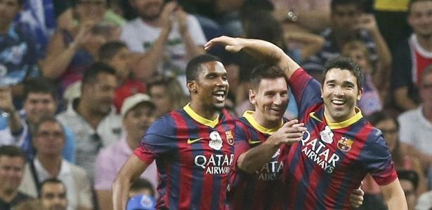 Eto´o foi parceiro de Lionel Messi de 2005, quando o argentino se profissionalizou, a 2009
