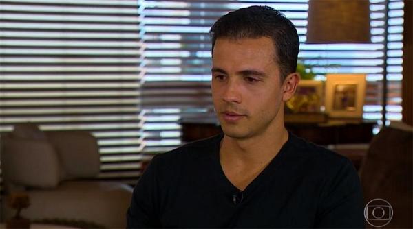 Jogador foi entrevistado no 'Esporte Espetacular'. Foto: Reprodução/TV Globo