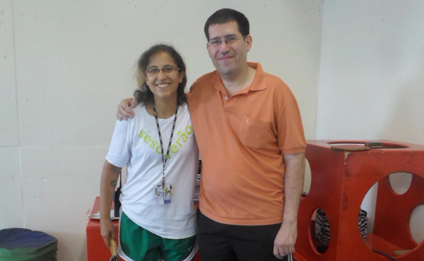 Entrevista do jornalista Maurício Sabará com Maria Rita Rodrigues, esgrimista que virou triatleta