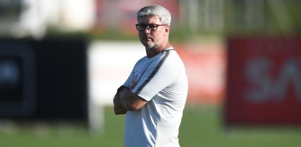 Treinador do Inter considera que adversário buscou empate. Foto: Ricardo Duarte/Inter