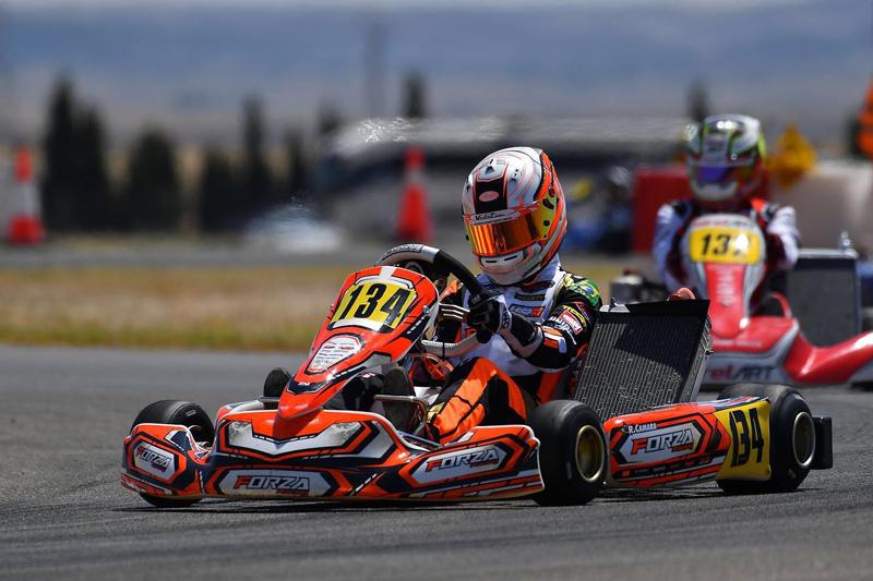 Brasileiro de 15 anos compete neste fim de semana. Foto: Sportinphoto/RF1