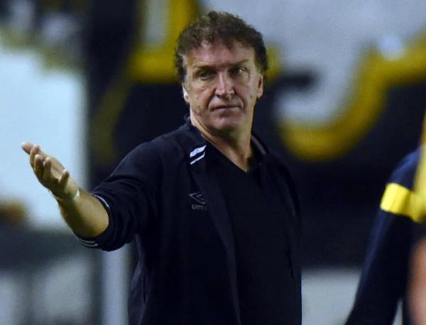 Cuca, técnico do Santos. Foto: Ivan Storti/Santos